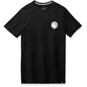 Smartwool Merino Sport 150 Skjorte To toppe grafisk Herrer, sort